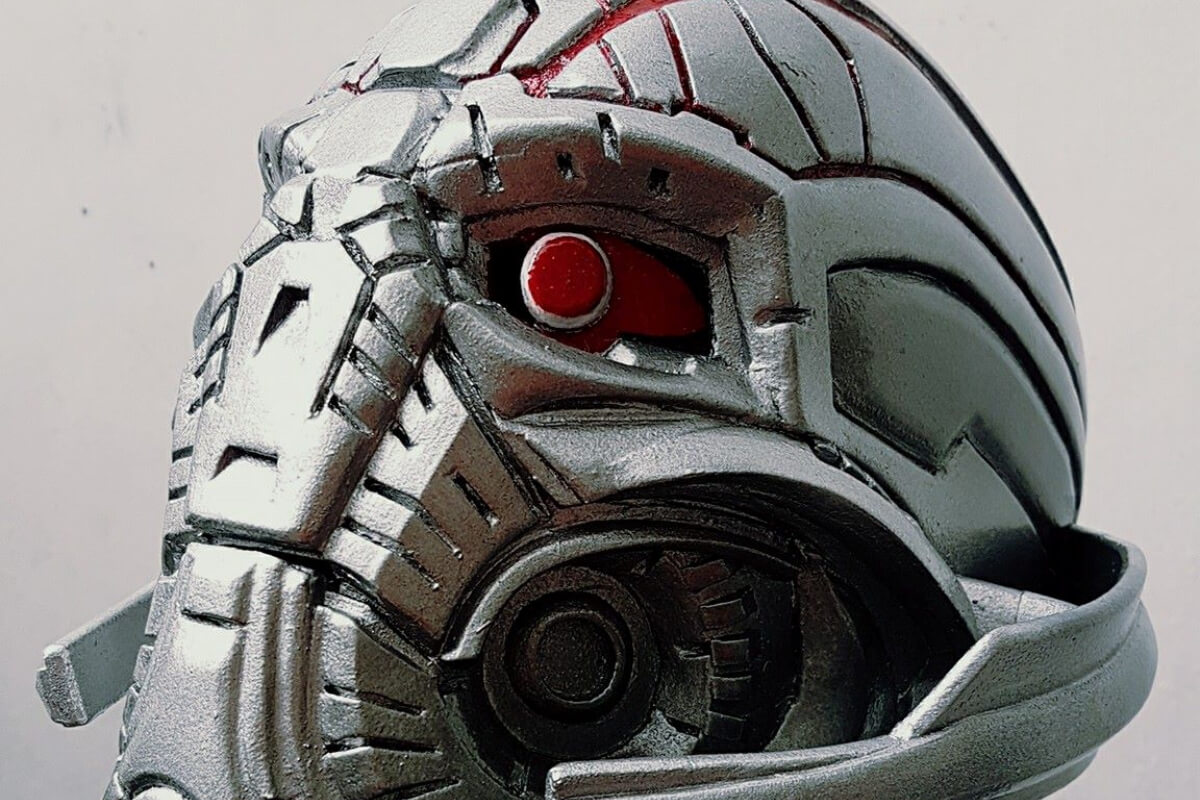 Avengerse Age of Ultron: Ultron Helmet