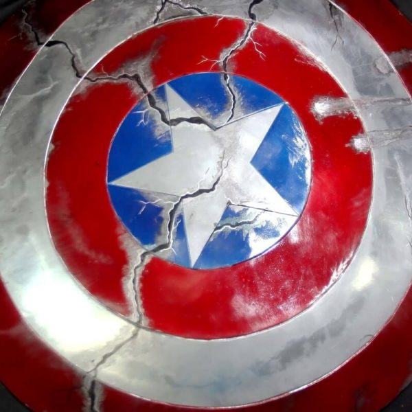 Captain America Shield Battle Damage
