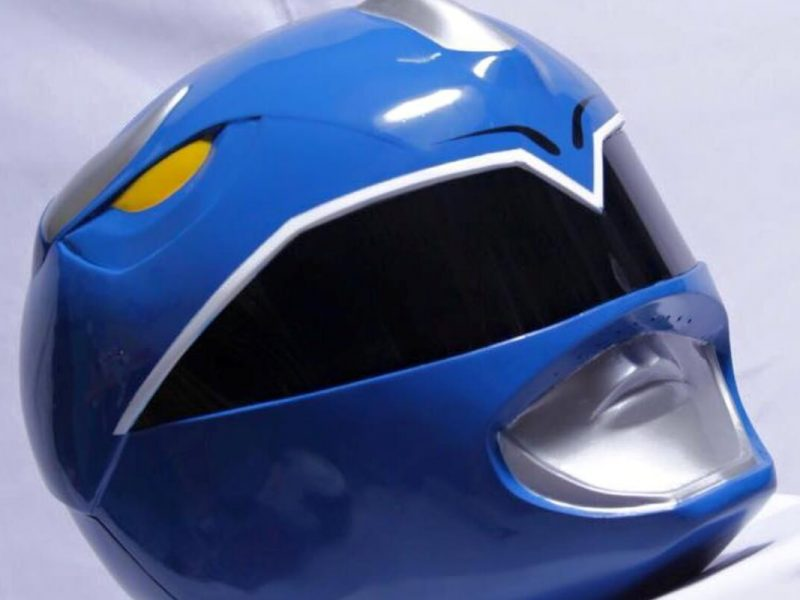 Power Ranger Helmet: Blue Ranger